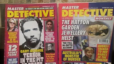 Two Master Detective Mags