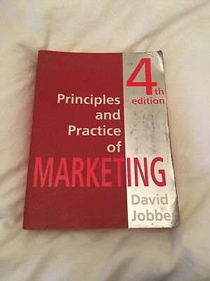 Principles And Practice Of Marketing Fourth Edition Paperback Book
