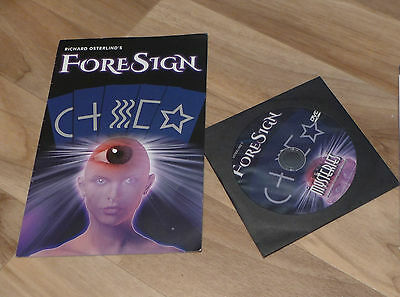 ForeSign (Fore Sign) Mentalism Magic Trick by Richard Osterlind - New