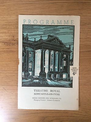 1950 Vintage Theatre Programme Theatre Royal Newcastle upon Tyne