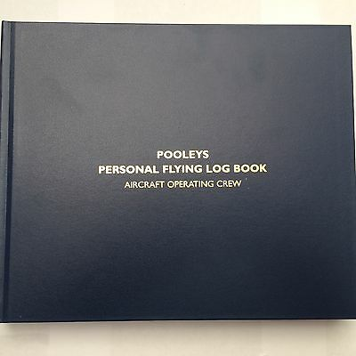 Pooleys Professional Pilots Logbook *EASA COMPLIANT*