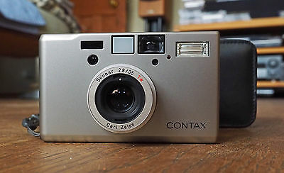 Contax T3 35mm Compact Film Camera with lens Kit