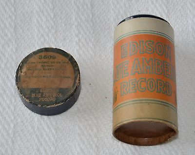Edison Blue Amberol Cylinder Record #3609 - From Tropic To Tropic March