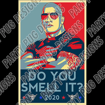 The Rock For Prez 2020 Poster! LAST ONE!!!