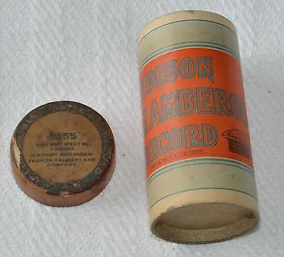 Edison Blue Amberol Cylinder Record #4955 - Way Out West In Kansas