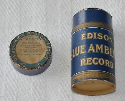 Edison Blue Amberol Cylinder Record #4397 - Gee Willikens