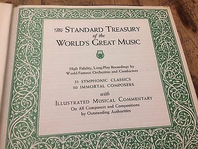The Standard Treasury Of The Worlds Great Music