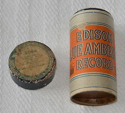 Edison Blue Amberol Cylinder #2064 - Hail! Hail! Day of Days - Christmas Number