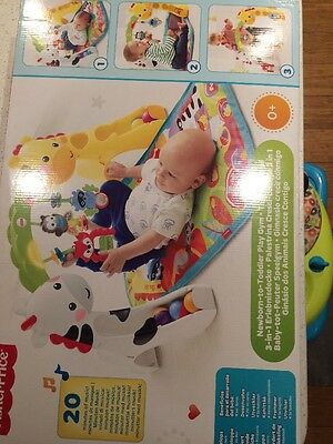New Fisher-Price Newborn-to-Toddler Play Gym -Baby Toodler