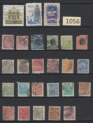 BRAZIL (South America) Some OLD Used Stamps BR-1056
