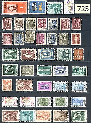 Stamps - (Europe) BULGARIA - Some Old & Rare Examples BU-700-725