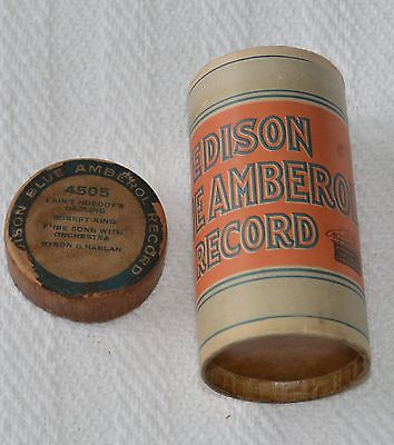 Edison Blue Amberol Cylinder Record #4505 - I Ain't Nobody's Darling