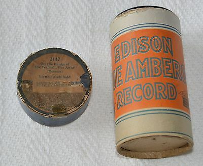 Edison Blue Amberol Cylinder Record #2147 - On The Banks of The Wabash, Far Away