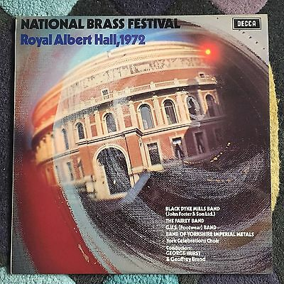 Various - National Brass Festival Royal Albert Hall, 1972 - UK LP Decca SKL.5143