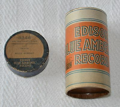 Edison Blue Amberol Cylinder Record #3246 - On The Party Line