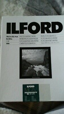 ILFORD MULTIGRADE IV RC DeLuxe - B&W negative paper resin coated pearl .8x10