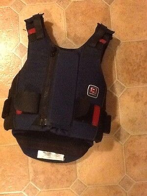 childs x small horse riding body protector