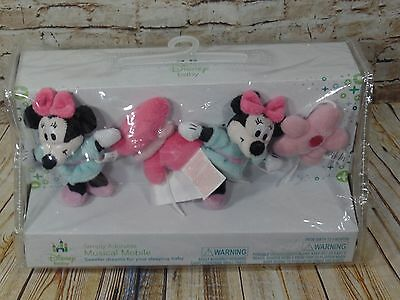 Disney Baby Minnie Mouse Simply Adorable Musical Mobile NWT Brahms Lullaby