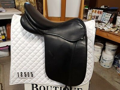 Stubben Tristan HP Dressage Saddle 18""