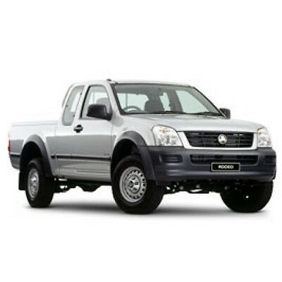 Holden Rodeo RA RC 2003-2008 Workshop Service Repair Manual on CD