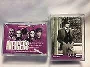 THE AVENGERS Definitive Collection Series 1 Base Set OF 100 cards and wrapper