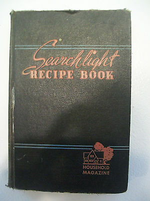 Search Light Recipe Book By Household Magazine