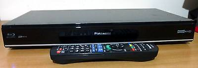 Panasonic DMR-PWT420 3D BlueRay Player 500GB HDD Recorder Twin Freeview+HD Tuner