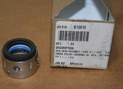 John Crane Type 8-1 Replacement FAS Type-X1 Seal Head Assy, .875 Inch, NEW/Box