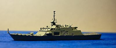 USS Detroit LCS 7 Painted 1/1250 Waterline Model ship 3D Printed in Resin