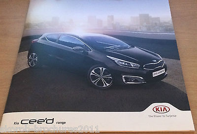 KIA - The New cee'd Range Sales Brochure 2017