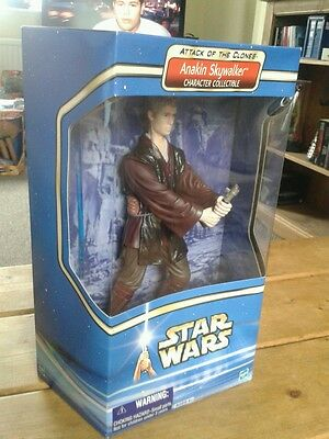 """Star Wars 12"""" Saga Attack Of The Clones Count Anakin Skywalker Boxed New Sealed"""