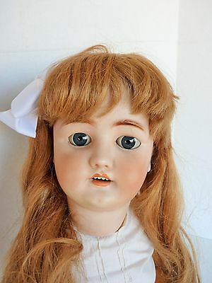 "Antique Simon & Halbig CM Bergmann 30"" German Doll Mold 13 1/2 She's A Big Girl!"