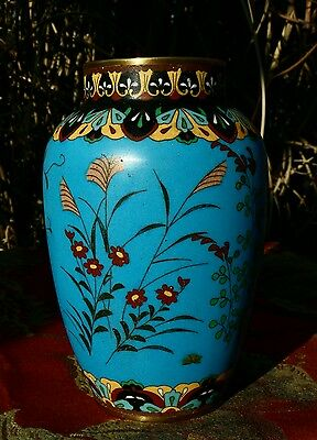 Antique Japanese Cloisonne Vase