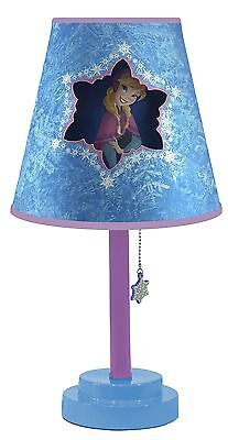 Disney Frozen Table Lamp with Die Cut Lamp Shade