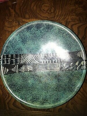 Hand Made And Hand Painted Dish From Africa
