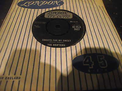 The Drifters - Sweets For My Sweet 1961 UK 45 LONDON 7 INCH SINGLE *LISTEN