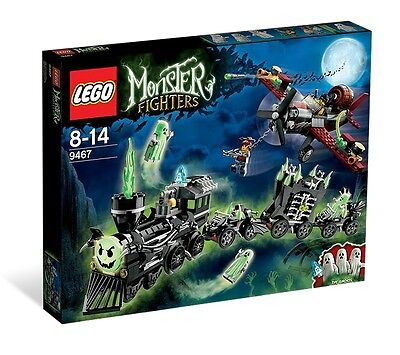Brand New Lego Monster Fighters 9467 The Ghost Train FREE POSTAGE