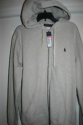 NWT Brand New Fleece Lined Ralph Lauren Men's Waffle Hooded Sweatshirt  3XLT