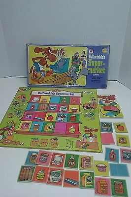 Vintage 1976 Bullwinkle's Supermarket Game by Whitman - Complete!