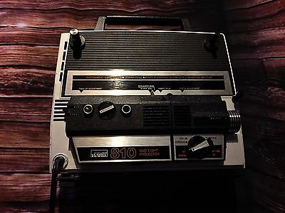Vintage Montgomery Ward 810 Duo Eight Projector - Super 8 - Tested Works