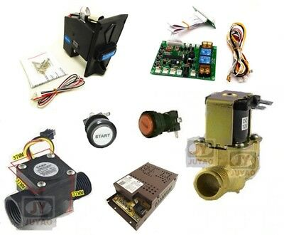 "1 kit of volume control for water vending machine with 1/2"" solenoid valve"