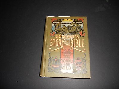 Hurlbut's STORY OF THE BIBLE For Young and Old  self-pronouncing-1904