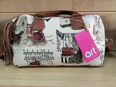 Quality Handbag with Yorkie Westie Scottie Design by Signare Now Only £18.99