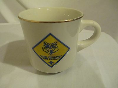 Cub Scouts Coffee Cup - Wolf Logo