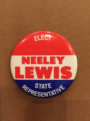 Vintage Neeley Lewis For Texas State Representative Bryan College Station TX