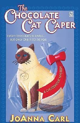 Chocoholic Mystery: The Chocolate Cat Caper 1 by JoAnna Carl (2002, Paperback)