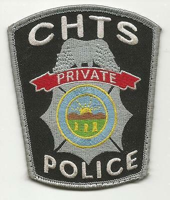 CHTS OHIO OH private Police patch