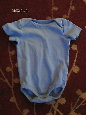 Gymboree~Baby Boys~Solid Blue One Piece~Bodysuit~6-12 Months~Infant~Outfit