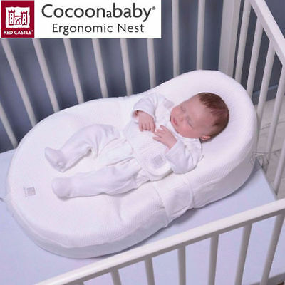 Red Castle Cocoonababy Nest - Ergonomic Newborn Baby Sleeping Aid Mattress