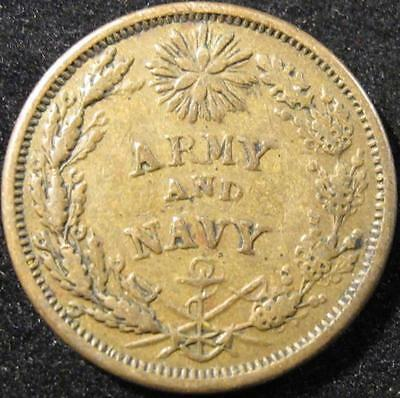 P844 - Army & Navy - Federal Union - One Cent Coin - Nr